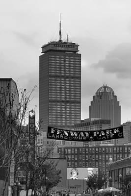 Lansdowne Street 2 - Fenway Park - Boston Print by Joann Vitali