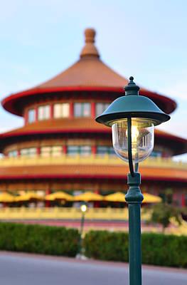 Lantern At Chinese Restaurant Original by Gynt