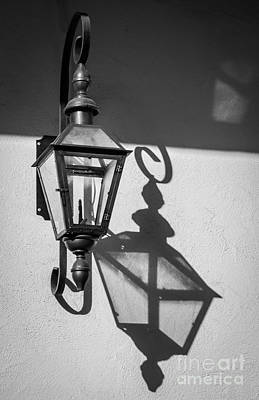 Orleans Photograph - Lantern Reflection by Inge Johnsson