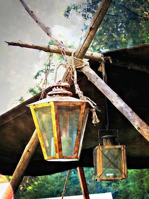 Lanterns Print by Marty Koch
