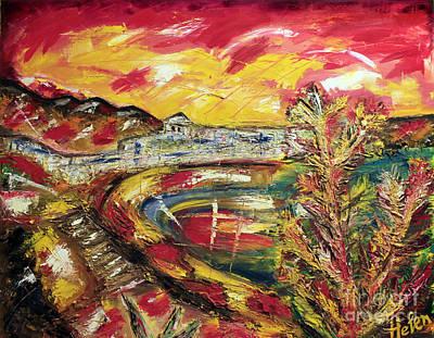 Lanzarote Painting - Lanzarote by Helen Bellart