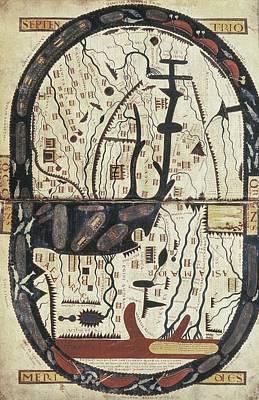Lapocalypse De Saint Sever. 11th C Print by Everett