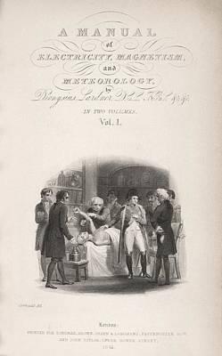 Lardner's Manual (1841) Print by King's College London