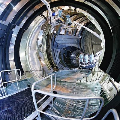 Simulator Photograph - Large Space Simulator by Esa-a. Le Floc'h