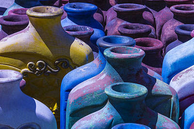 Large Vases Print by Garry Gay