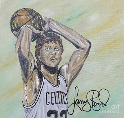 Larry Bird Painting - Larry Bird  by John Garcia