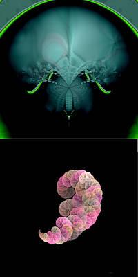 Larva Mixed Media - Larval Hypothesis by Carles Sapena