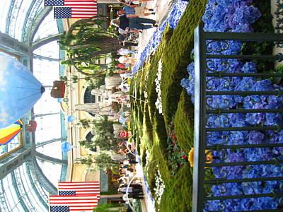 Las Vegas - Bellagio Casino - 12123 Print by DC Photographer