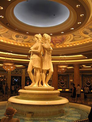 Decor Photograph - Las Vegas - Caesars Palace - 121210 by DC Photographer