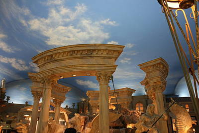 Pool Photograph - Las Vegas - Caesars Palace - 121212 by DC Photographer