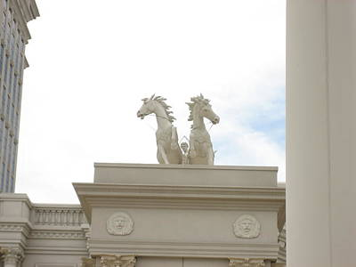 Las Vegas - Caesars Palace - 12128 Print by DC Photographer