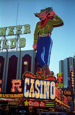 Glitter Gulch Photograph - Las Vegas Downtown 1 by Frank Romeo