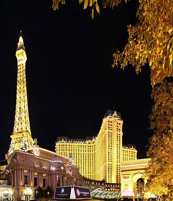 Las Vegas - Paris Casino - 01132 Print by DC Photographer