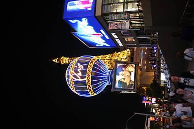 Las Vegas - Paris Casino - 121216 Print by DC Photographer
