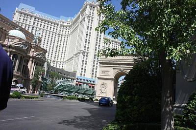 Las Vegas - Paris Casino - 121220 Print by DC Photographer