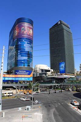 Las Vegas Strip 7 Print by Frank Romeo