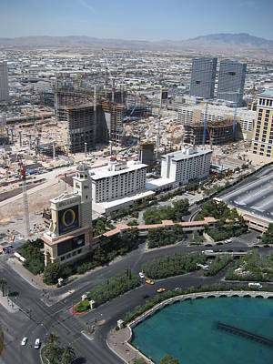 Las Vegas - The Srip - 12129 Print by DC Photographer