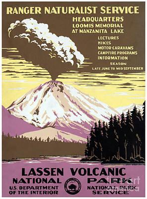 Lassen Painting - Lassen Volcanic National Park by Pablo Romero
