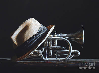 Realist Painting - Last Call by Larry Preston