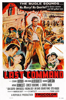 Sterling Photograph - Last Command, Us Poster Art, Sterling by Everett