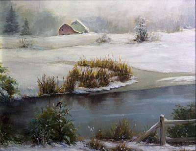 Schmid Painting - Last Days Of Winter by Carlos Herrera