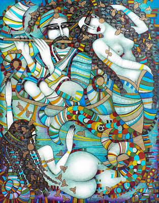 Painting - Last Heaven by Albena Vatcheva