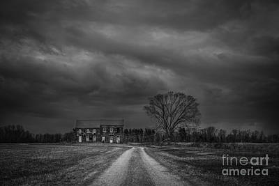 Last House On The Left Bw Original by Michael Ver Sprill