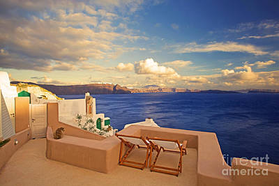 Vacances Photograph - Last Light by Aiolos Greek Collections