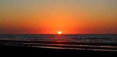Sunset Photograph - Last Light Before Night by Rosanne Jordan