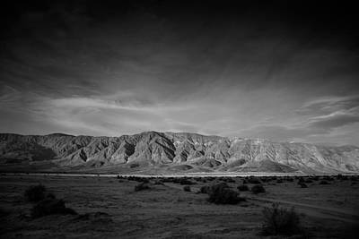 Dry Lake Photograph - Last Light by Peter Tellone