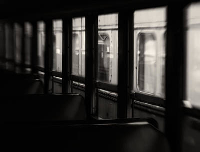 Lensbaby Photograph - Last Stop by Amy Weiss