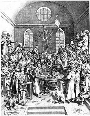 Jacques Photograph - Late 16th Century Anatomy Theatre by Universal History Archive/uig