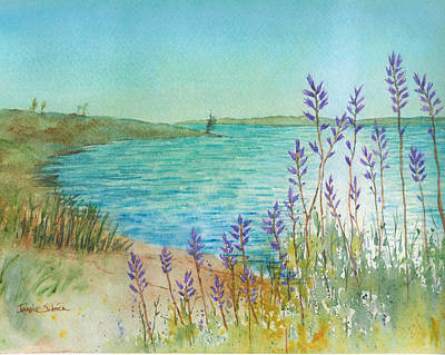 Late Afternoon Morro Bay Original by Janice Sobien