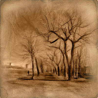 Late Autumn Print by Frida  Kaas
