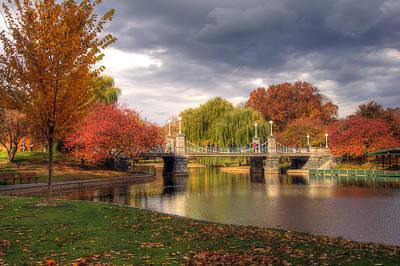 Autumn Scene Photograph - Late Autumn by Joann Vitali