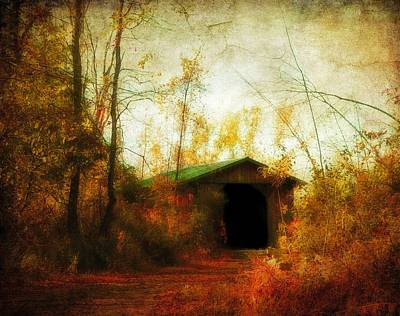 Late October Print by Gothicolors Donna