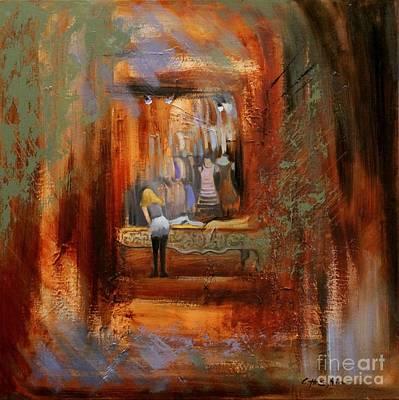 Painting - Late Shift by Chin H  Shin