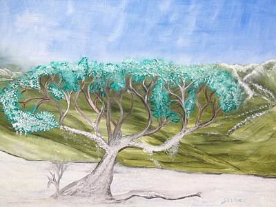 Late Winter Frost Print by Suzanne Surber