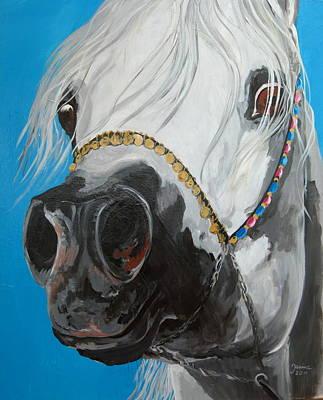 Painting - Latif Al Jazar by Janina  Suuronen