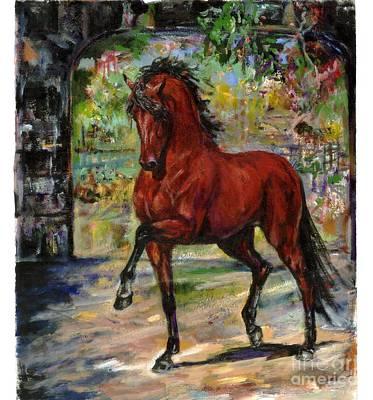P.r Painting - Latigo by Tere Goldstein