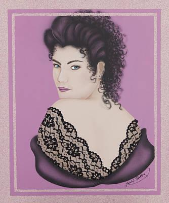 Latin Lace Print by Nickie Bradley