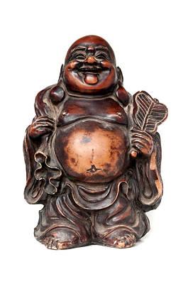 Folkloric Photograph - Laughing Buddha by Fabrizio Troiani