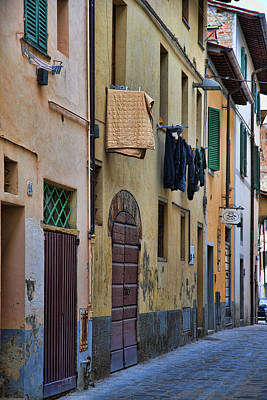 Laundry Citta Di Castello Original by Hugh Smith