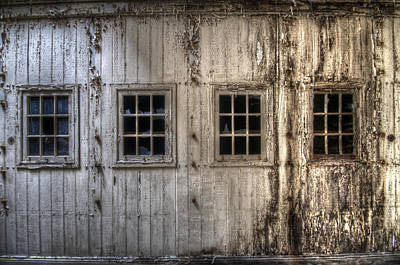 Laundry Windows  Print by Nathan Wright