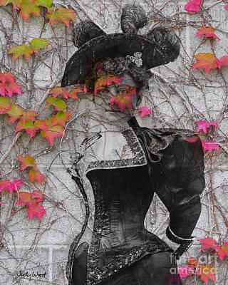 Judy Wood Digital Art - Laura Jean Vines by Judy Wood