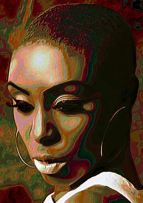 Fine Art Digital Art - Laura Mvula by  Fli Art