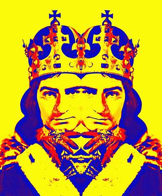 Drama Mixed Media - Laurence Olivier Double In Richard IIi by Art Cinema Gallery
