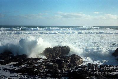 90 Mile Beach Photograph - Lava Beach Rocks On 90 Mile Beach by Mark Dodd