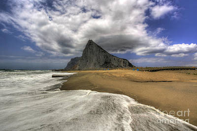 Nigel Hamer Photograph - Lavante Over Gibraltar by English Landscapes