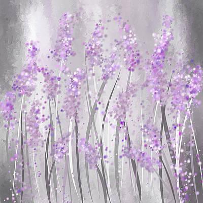Lavender Art Print by Lourry Legarde